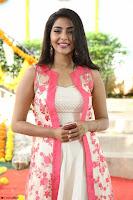 Aishwarya Lekshmi looks stunning in sleeveless deep neck gown with transparent Ethnic jacket ~  Exclusive Celebrities Galleries 045.JPG