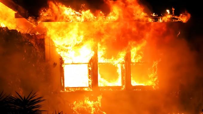 Hétvégi ház égett Ózd külterületén