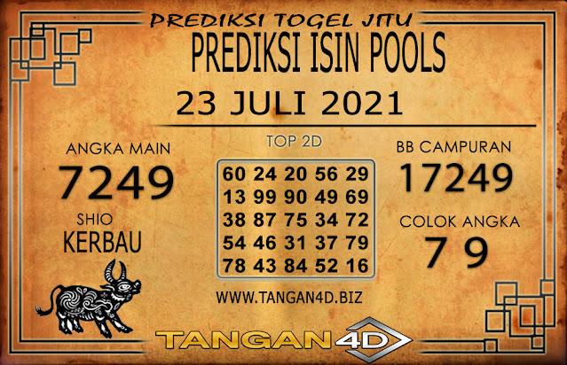 PREDIKSI TOGEL ISIN TANGAN4D 23 JULI 2021
