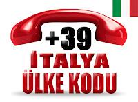 +39 İtalya ülke telefon kodu