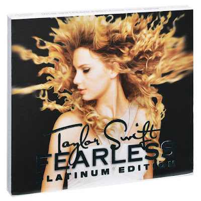 Taylor Swift Fearless Platinum Edition 2009 DVD R1 NTSC VO