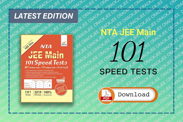 Download Disha NTA JEE Main 101 Speed Tests 2020 Pdf