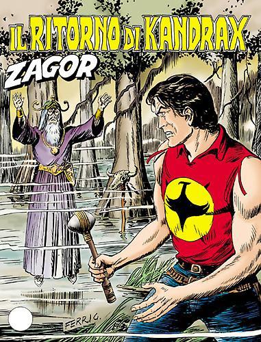 Zagor - tutte le storie di Kandrax il mago