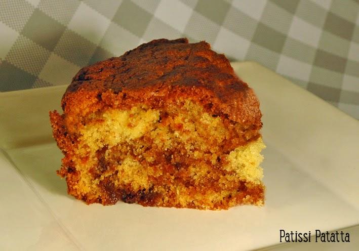 gâteau américain, cannelle, gâteau à la annelle