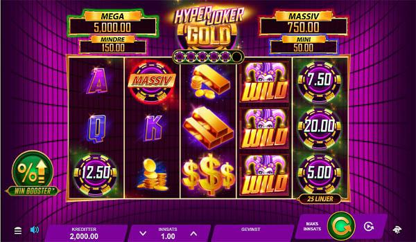 Main Gratis Slot Indonesia - Hyper Joker Gold Microgaming