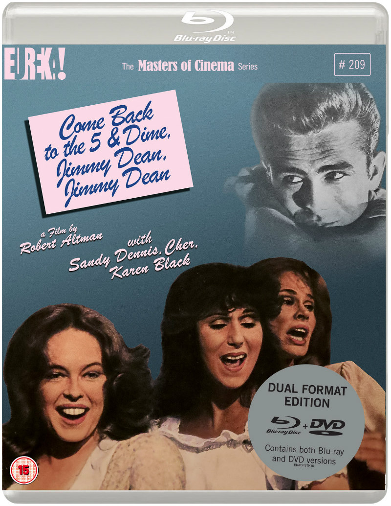 Come Back to the 5 & Dime, Jimmy Dean, Jimmy Dean bluray