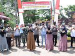 Kapolres Situbondo Meresmikan Dua Kampung Tangguh Semeru Covid- 19