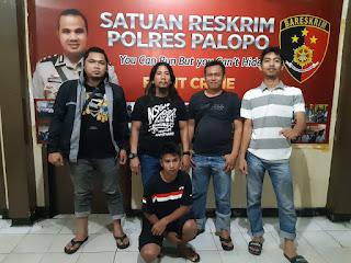 Unit Resmob Polres Palopo Ringkus Pelaku Pengeroyokan