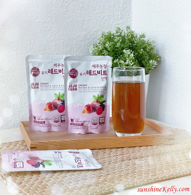 Jeju Farm Organic Red Beet Juice Review, Jeju Farm, Korean Health Drink, Korean Product, Korean Health Food Review, Best Korean Drink Malaysia, Health