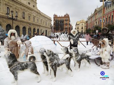 Sevilla - Plaza de San Francisco - Navidad 2017 06