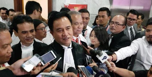 Sebut Klaim Menang Prabowo Hanya Berdasar Ahli IT, Yusril: Bisa Kami Rontokkan