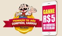 Promoção Tio João Comprou, Ganhou promocaotiojoao.com.br