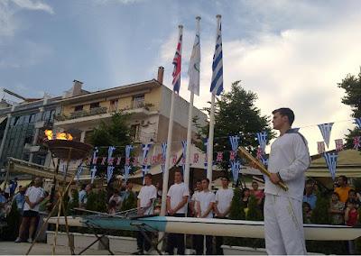 Ρυθμίσεις Κυκλοφορίας στη Χερσαία Ζώνη Λιμένα Ηγουμενίτσας κατά την διέλευση της Ολυμπιακής Φλόγας