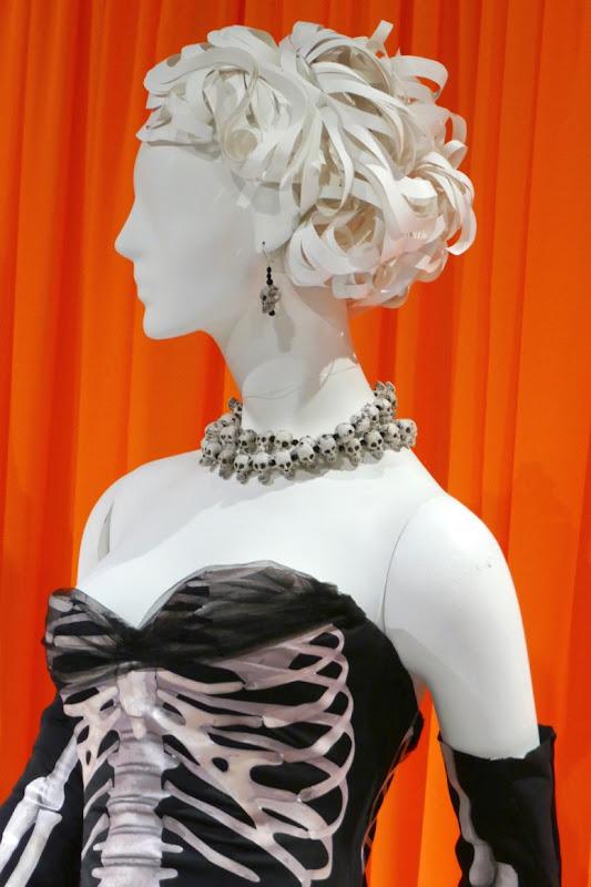 Crazy Ex-Girlfriend skeleton costume detail