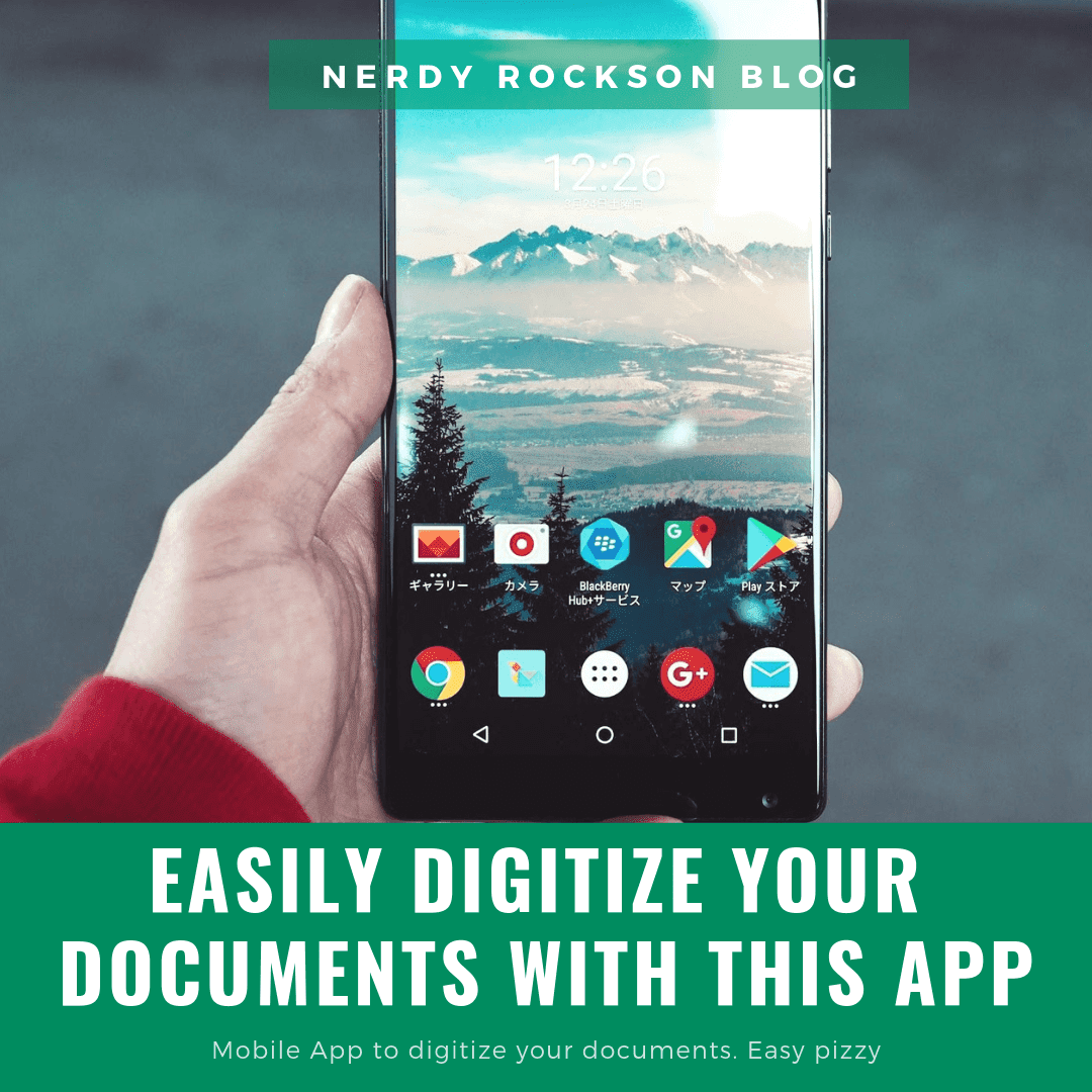 Easily Digitize Your Documents With This App