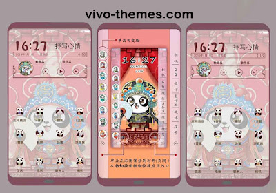 Panda Express Delivery Theme For Vivo Android