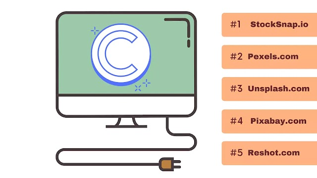 Top 5 Copyright Free Image Website – No Copyright