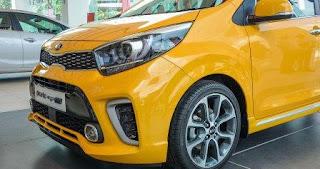 Mâm xe 16 inch thể thao Kia Morning 2018