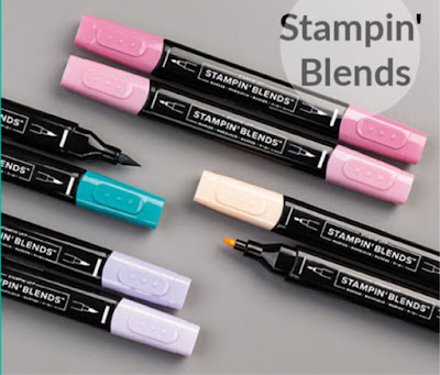 Click to shop all Stampin' Blends colors