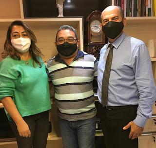Guarabira sem fome recebe o apoio de Neite e do Dr. Teotônio