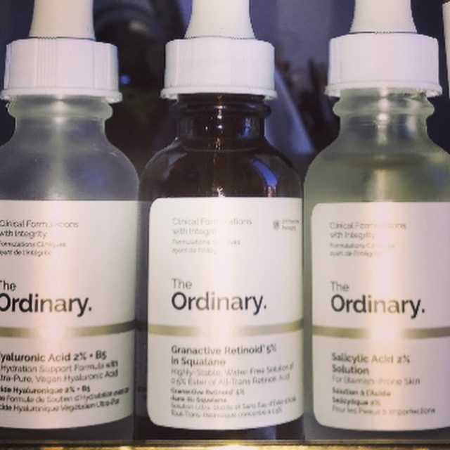 The Ordinary Mischhaut Trockene Haut Pflegeroutine Anti-Aging
