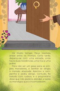 História O Pobre e o Rico (Conta Pra Mim); Baixar PDF Grátis
