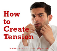 how to create tension in a novel