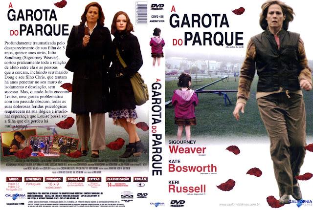 Capa DVD A Garota do Parque