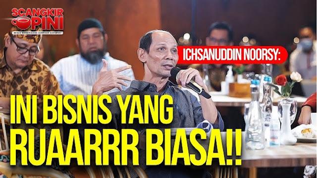 Bongkar Tuntas!! Ichsanuddin Noorsy: HAJI INI BISNIS YANG RUAARRR BIASA!!