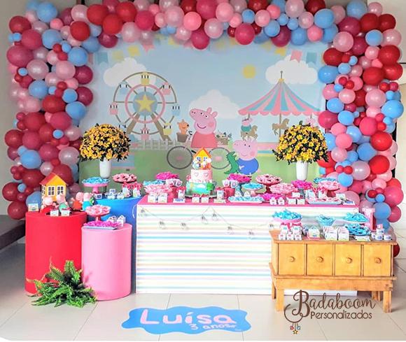 painel, painel peppa pig, festa peppa pig, arte digital, festa infantil, kit digital, arte personalizada