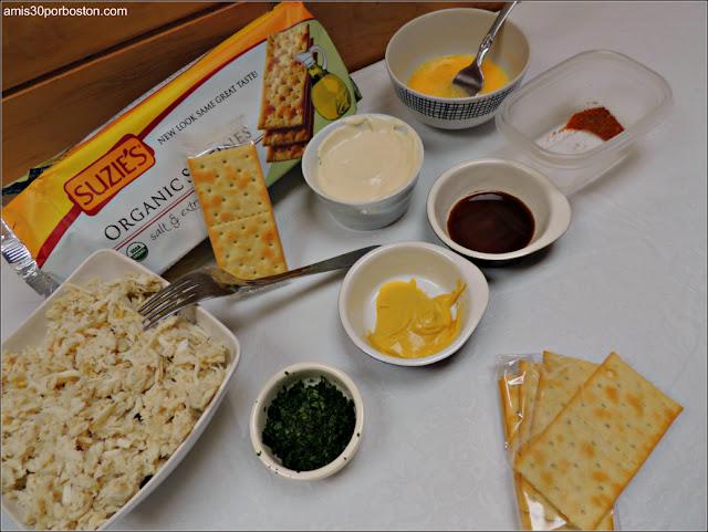 Ingredientes Crab Cakes: Recetas de Nueva Inglaterra