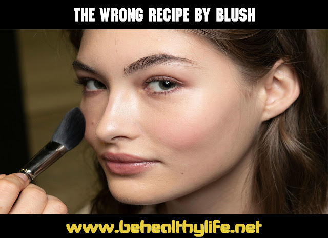 5 Mistakes You Make With Blush Destroy Your Skin Care