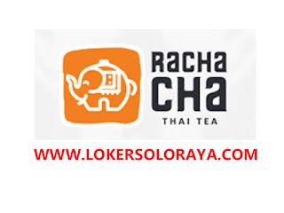 Lowongan Kerja Sukoharjo Terbaru Juni 2020 di Rachacha Thai Tea