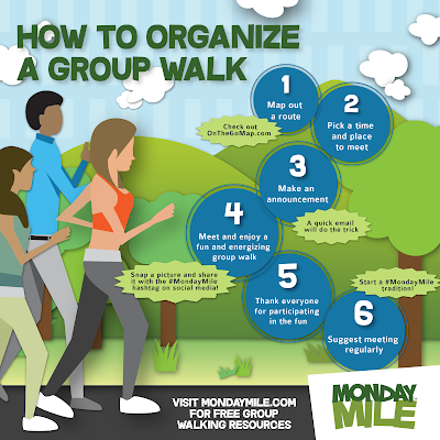 How to organize a group walk