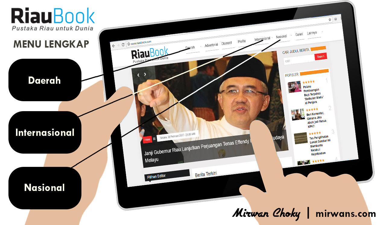Riaubook, Media Online Riau