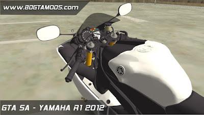 YAMAHA R1 2012 para GTA San Andreas