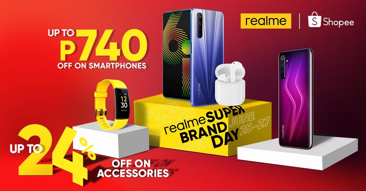 realme and shopee super brand sale day