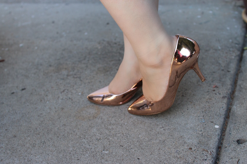 rose gold heels INC International Concepts Macy's