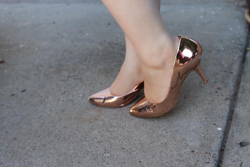 rose gold heels INC International Concepts Macy's