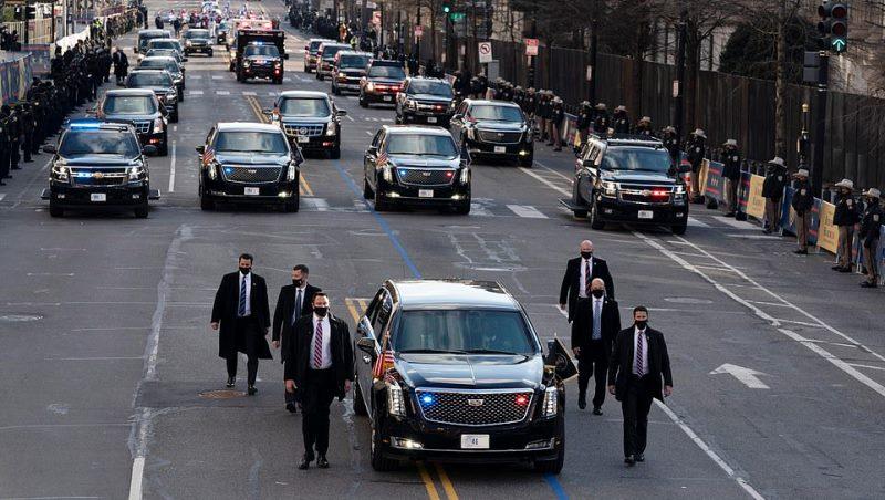Trump Tergeser, Pelat Nomor Kepresidenan AS 'The Beast' Diganti '46' untuk Biden