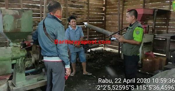 BPP Paju Epat Lakukan Pengecekan dan Pendataan Penggilingan Padi di Desa Balawa