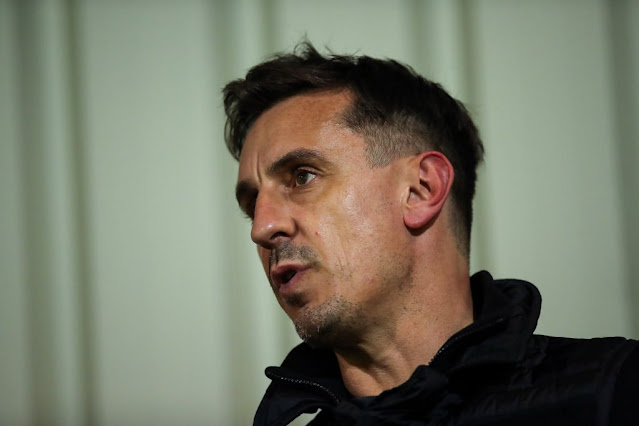 'COULDN'T BE MORE BIASED': SOME ARSENAL FANS INCENSED BY GARY NEVILLE'S 'PATHETIC HYPOCRISY'