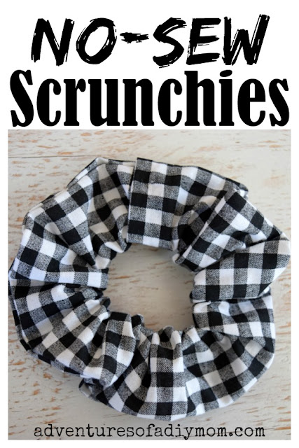 no-sew scrunchies