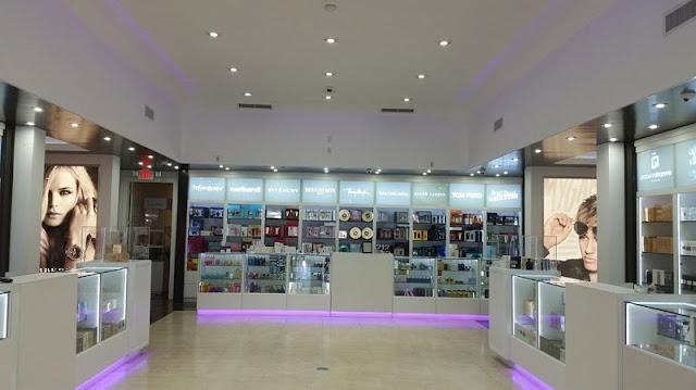 Diferenciais da loja de óculos Lexor Miami