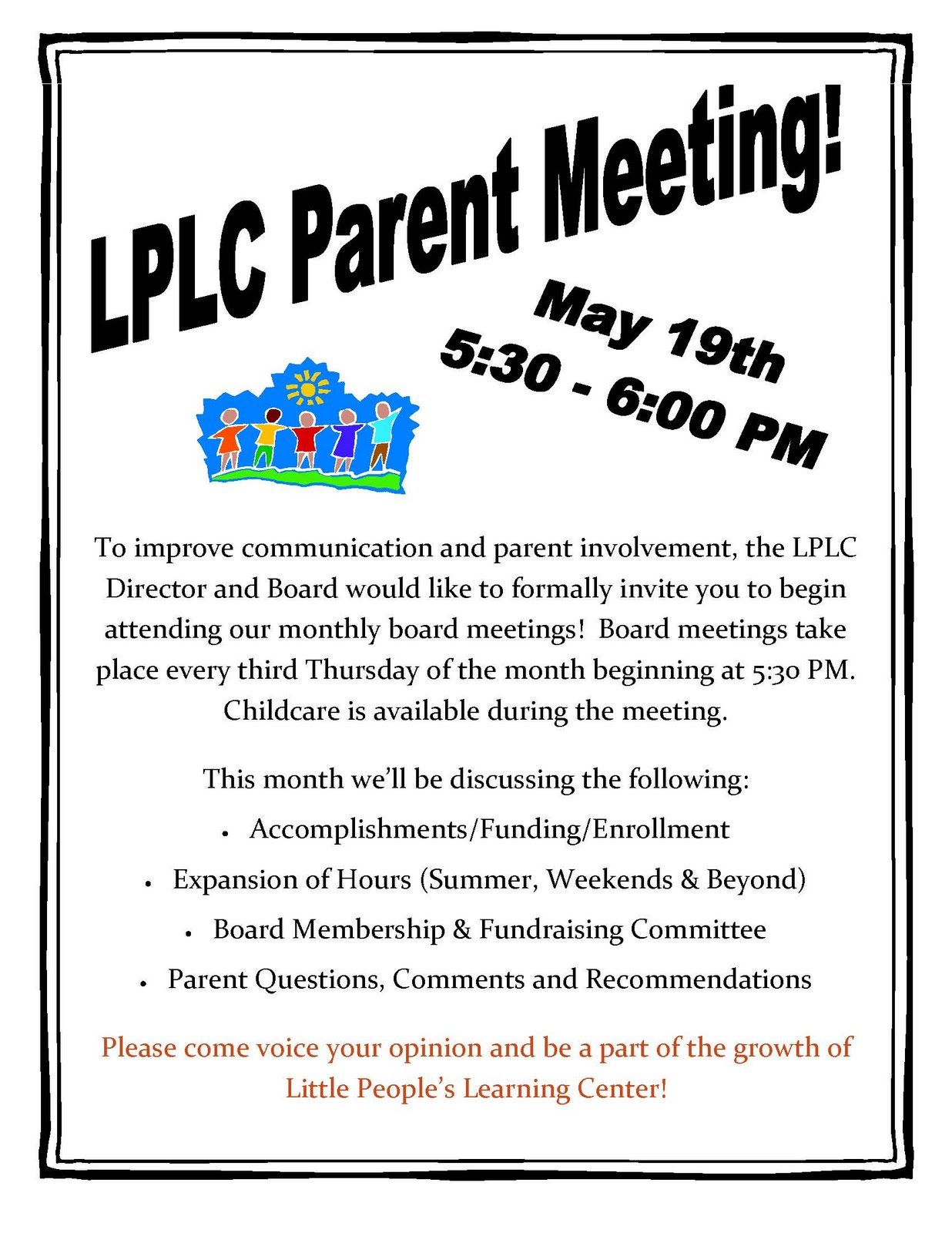 Letter Of Invitation To Parents For A Meeting | Cv Example