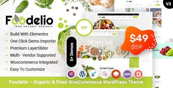 Best Organic & Food WooCommerce Multivendor WordPress Theme