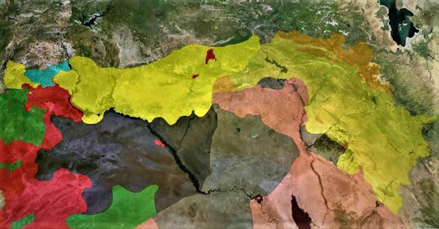 Kürtler in Deyrezzor u almasıyla ABD nin planı...