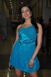 Actress Sanjana Pictures at Araku Road Lo Audio Launch 0005