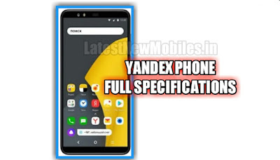 Yandex Phone price and launch date