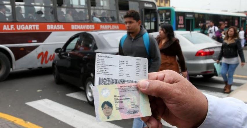 RENOVACIÓN DE BREVETE 2019: El 30 de setiembre vence plazo para revalidar licencia de conducir profesional, informó el Ministerio de Transportes